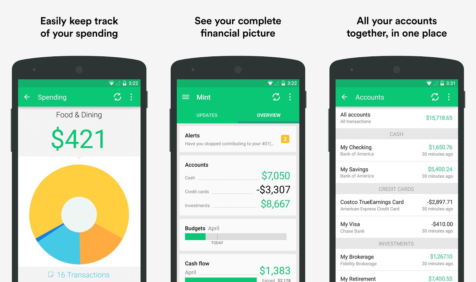 Mint-app- 3 aplikácie, ktoré vám pomôžu ušetriť peniaze