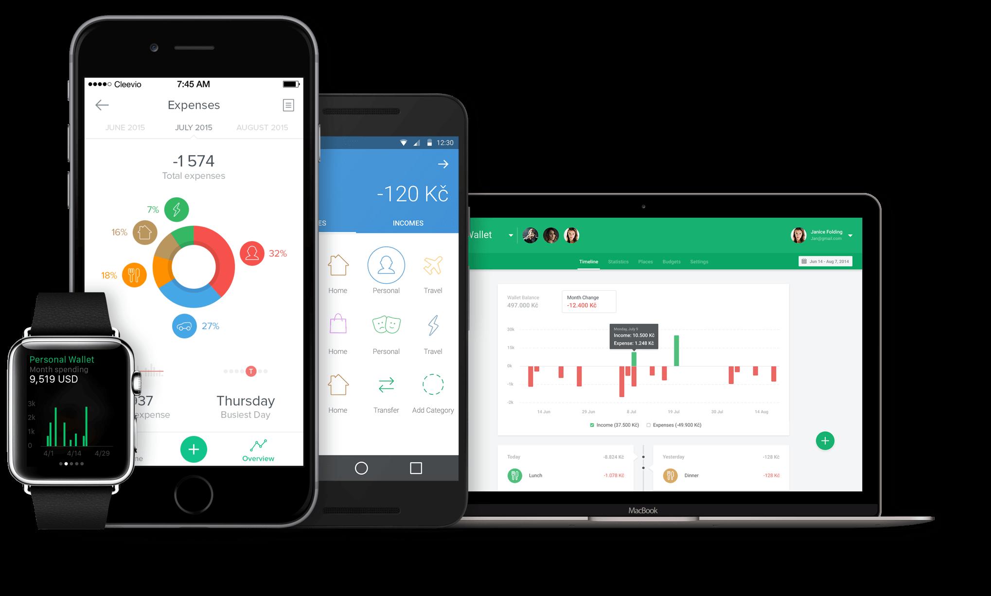 spendee-devices 3 aplikácie, ktoré vám pomôžu ušetriť peniaze