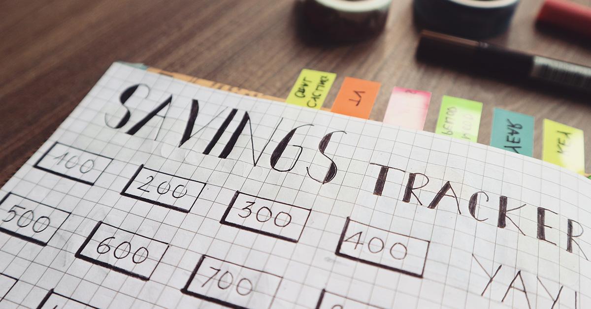 savings-tracker Neviete ušetriť peniaze? Vyskúšajte finančný plán!