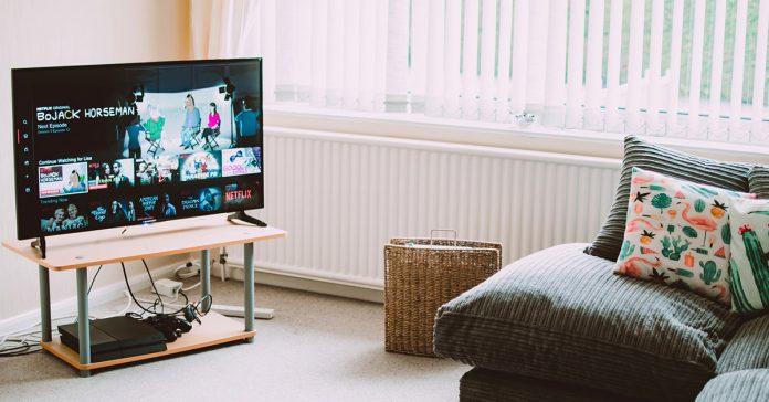 obyvacka televizor